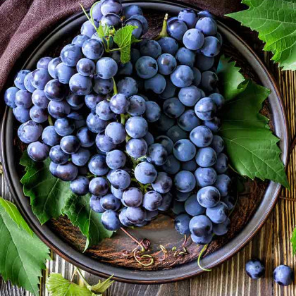 Are you familiar with the benefits of black grapes for skin, hair and health overall?